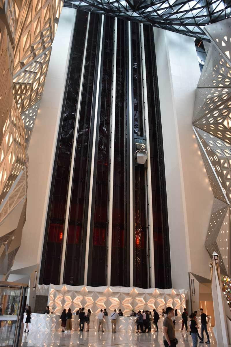 Morpheus Tower Panoramic Elevator