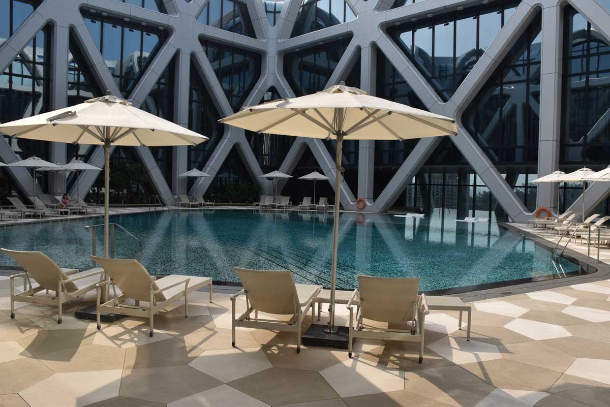 Morpheus Hotel Pool