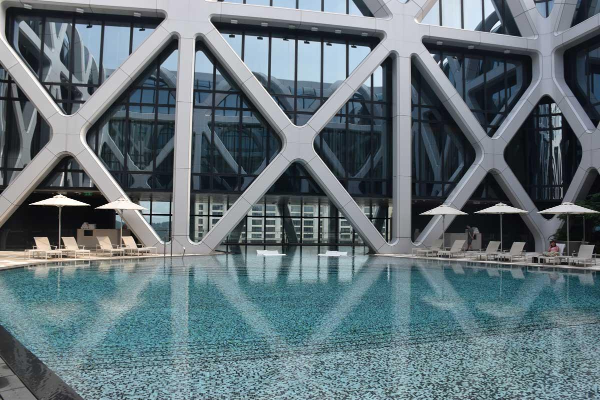Morpheus Tower swimming pool