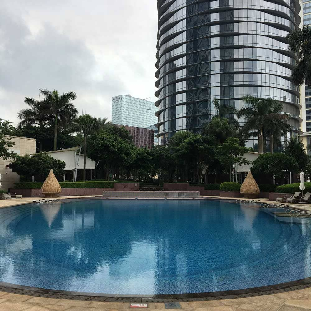 Hotel Nuwa pool