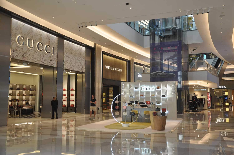 City of Dreams Macau shopping quarter