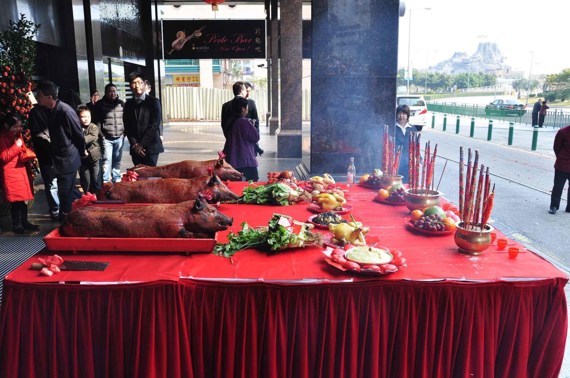 Waldo Hotel Macau Year of the Pig