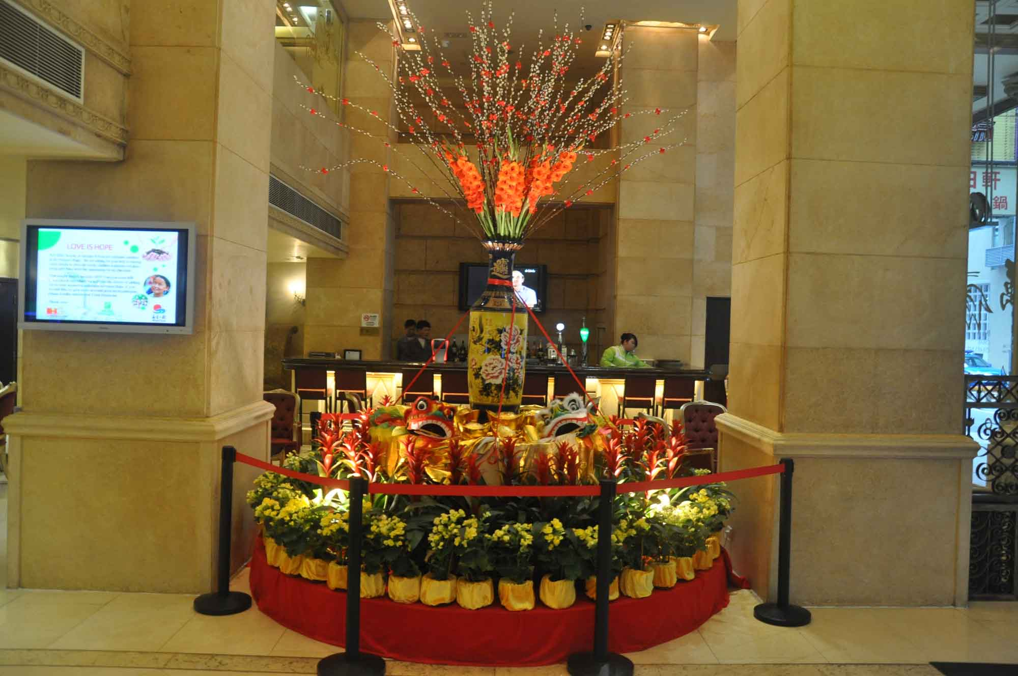Holiday Inn Macau lobby