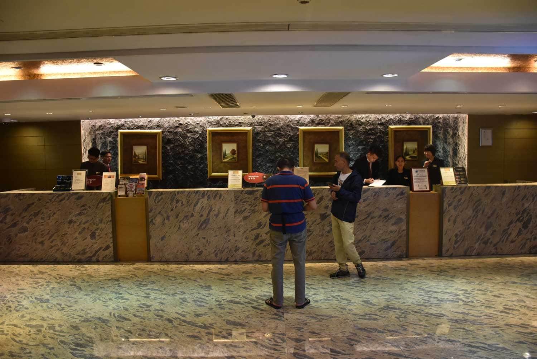 Waldo Hotel Macau lobby