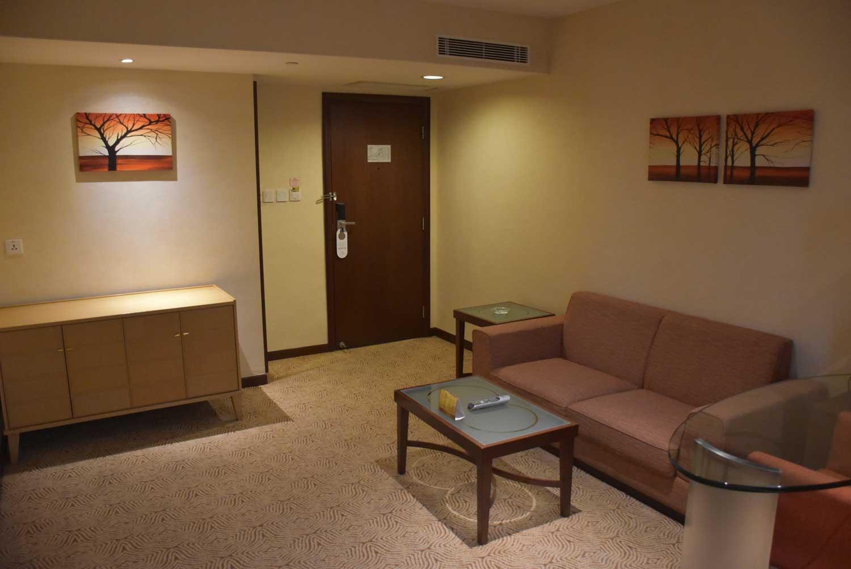 Casa Real Junior Suite living room