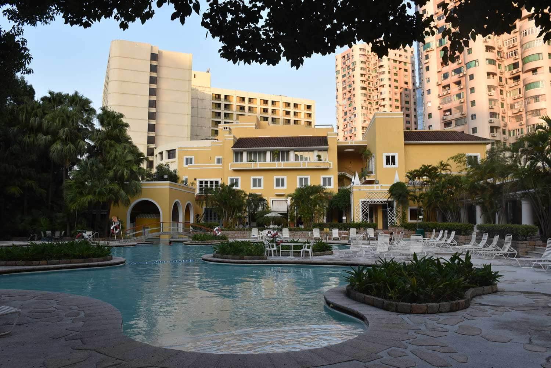Regency Art Hotel outdoor pool