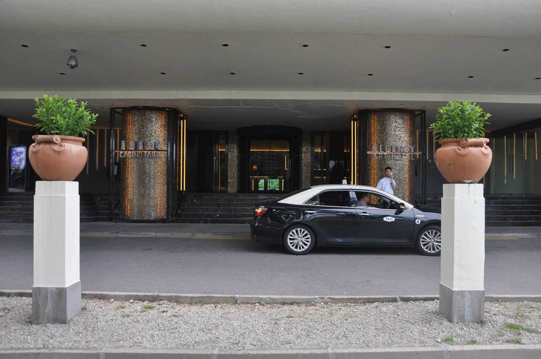 Regency Art Hotel entrance