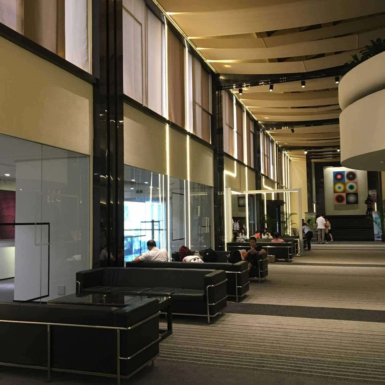 Regency Art Hotel lobby