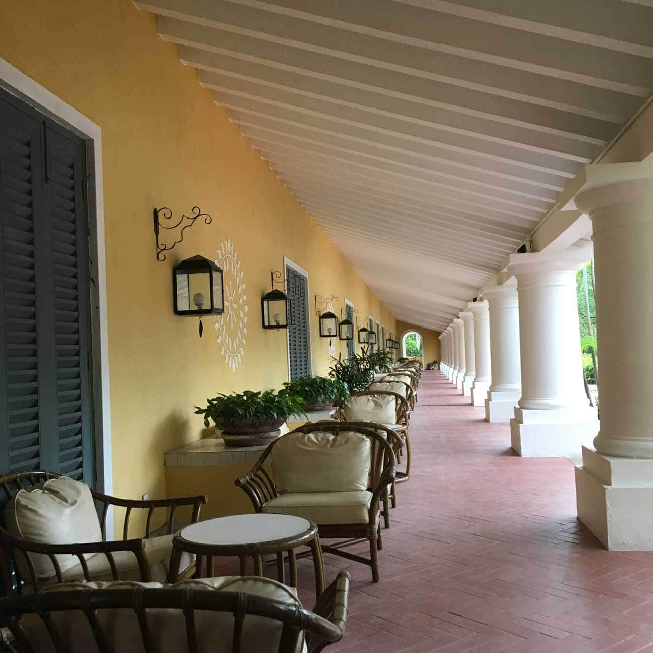 Regency Art Hotel outdoor pool chairs