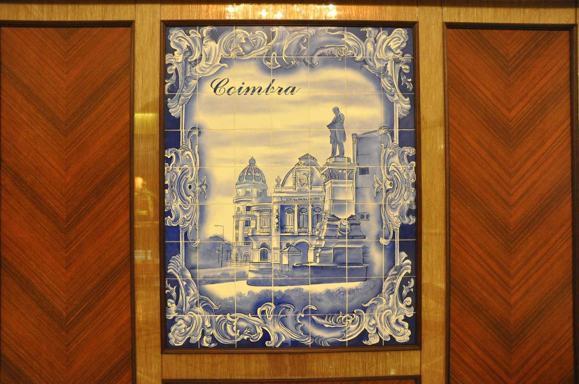Casa Real Coimbra azulejo