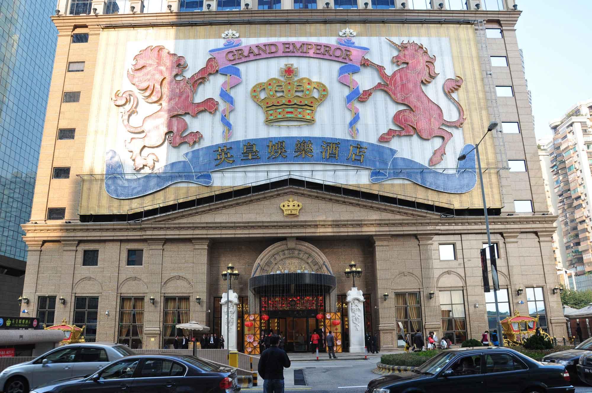 Grand Emperor Hotel entrance