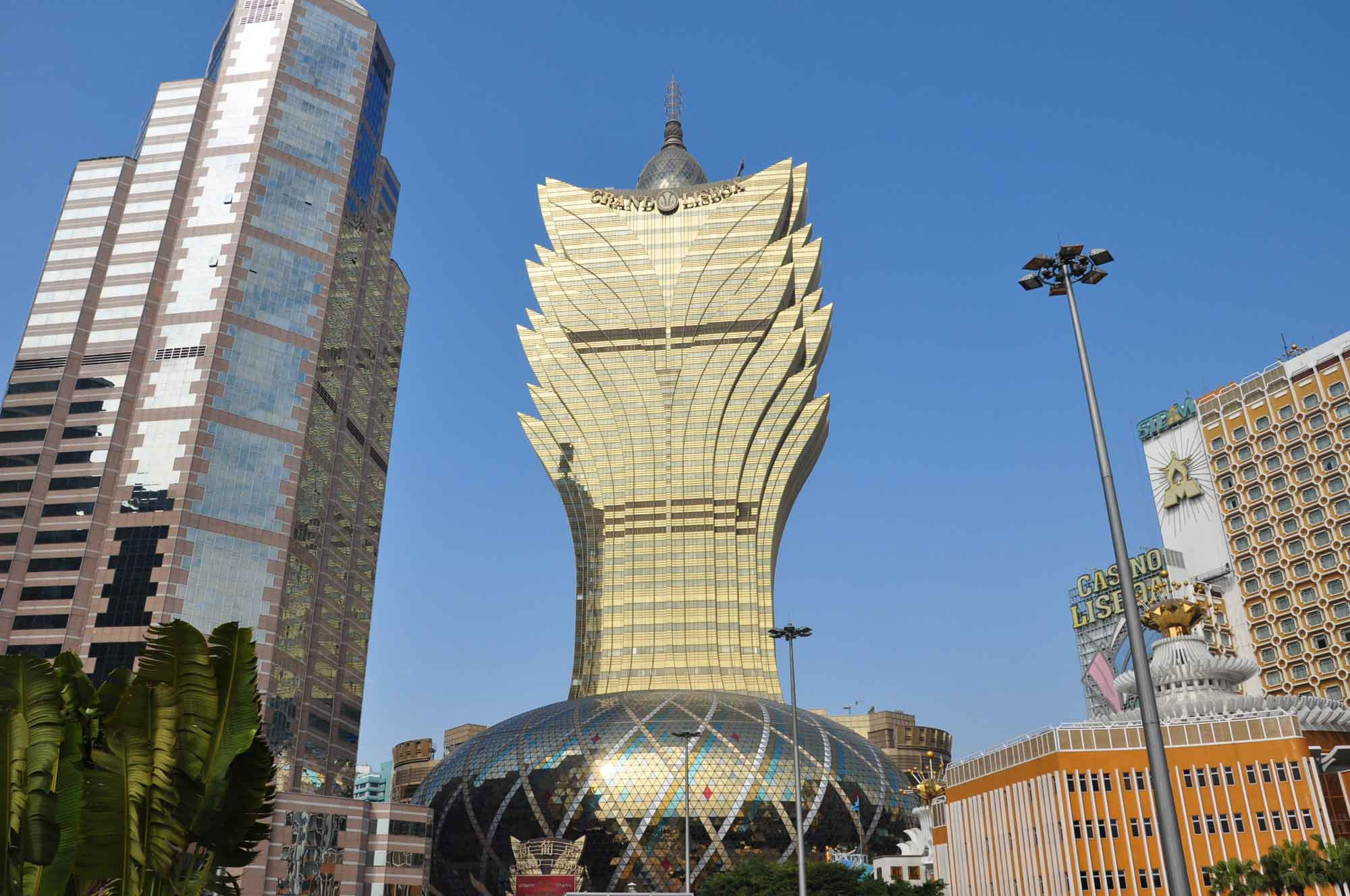 Grand Lisboa outside