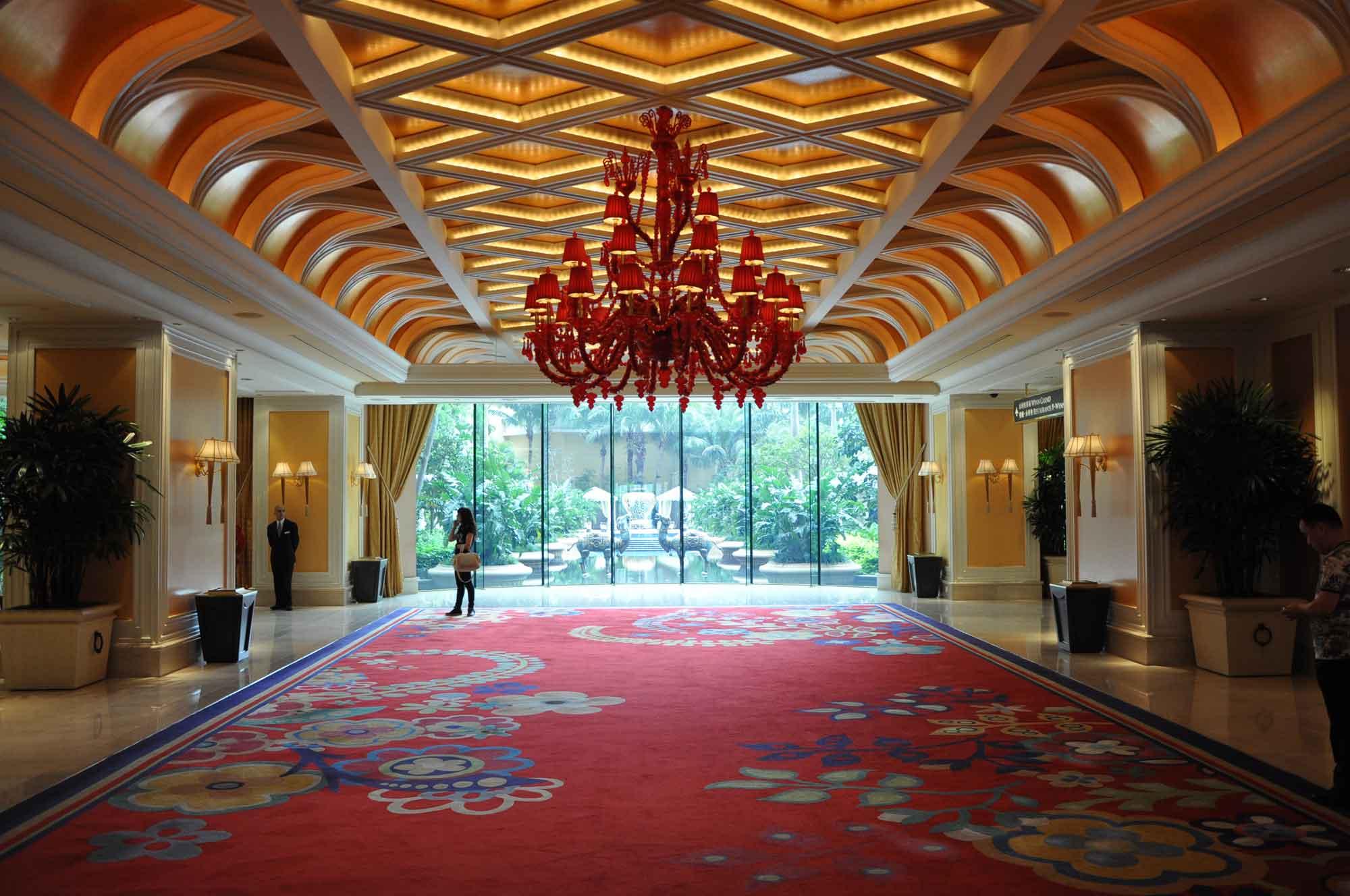 Wynn Macau lobby