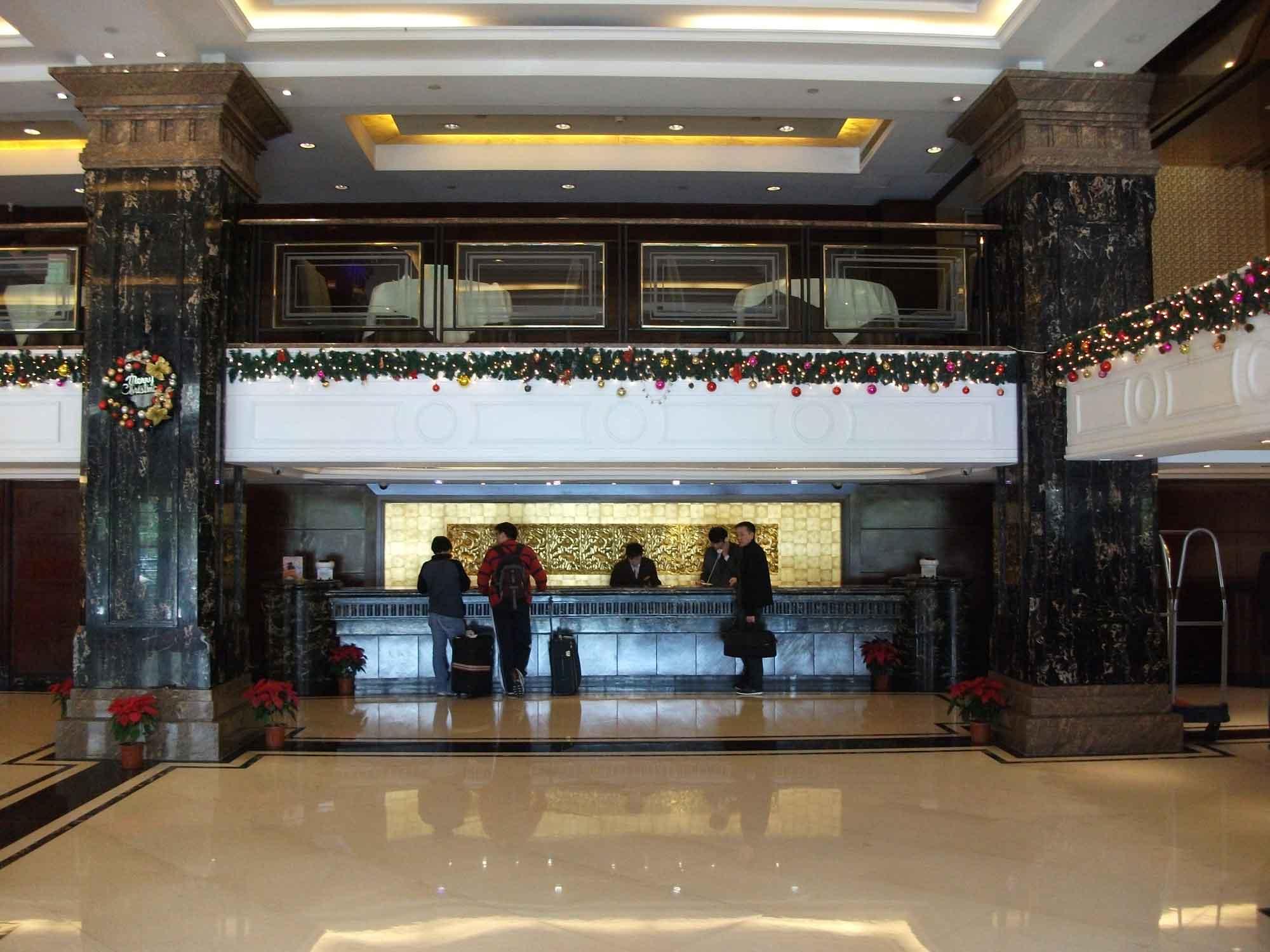Hotel President Macau front desk