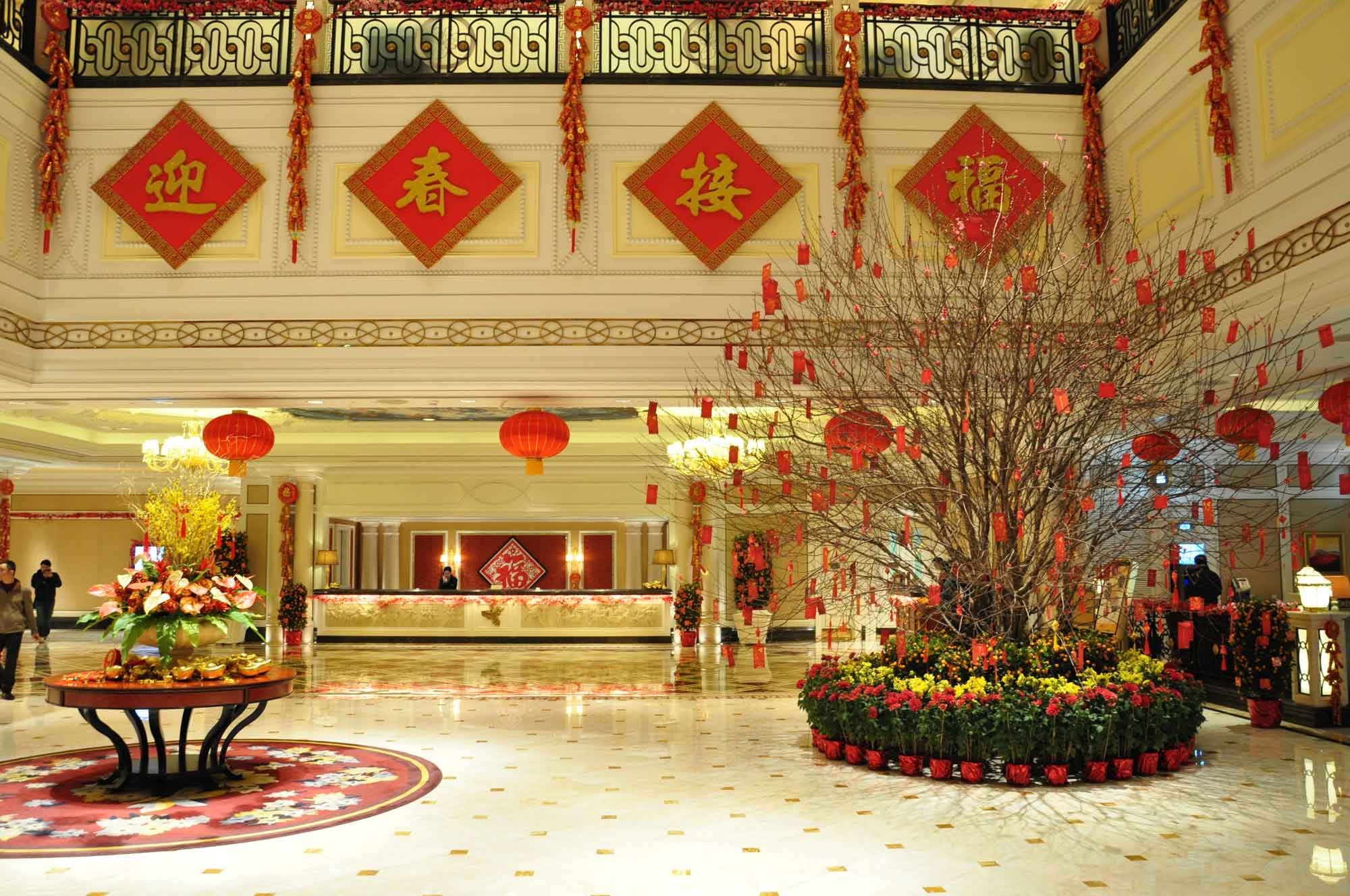 L'Arc Macau Hotel lobby