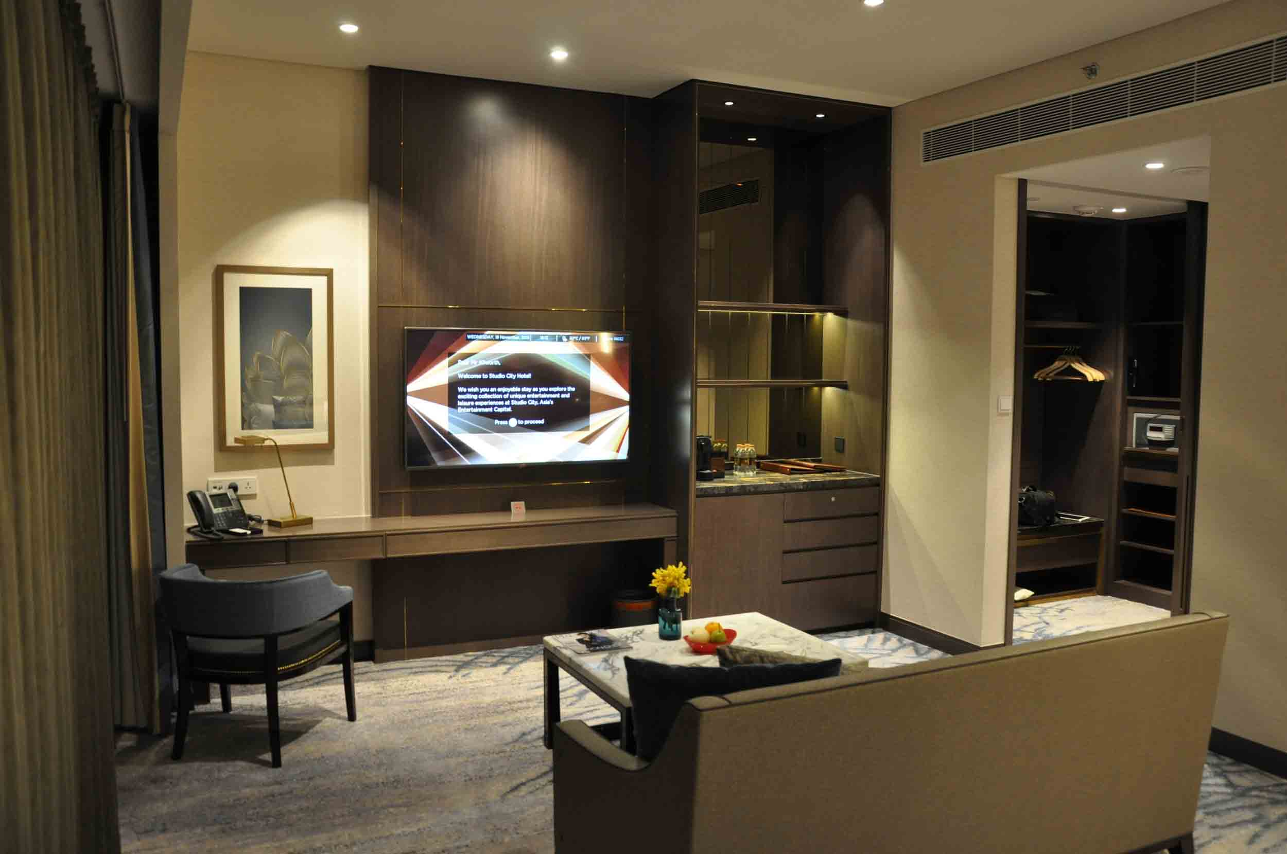Studio City Macau Star Premium KIng Suite living room