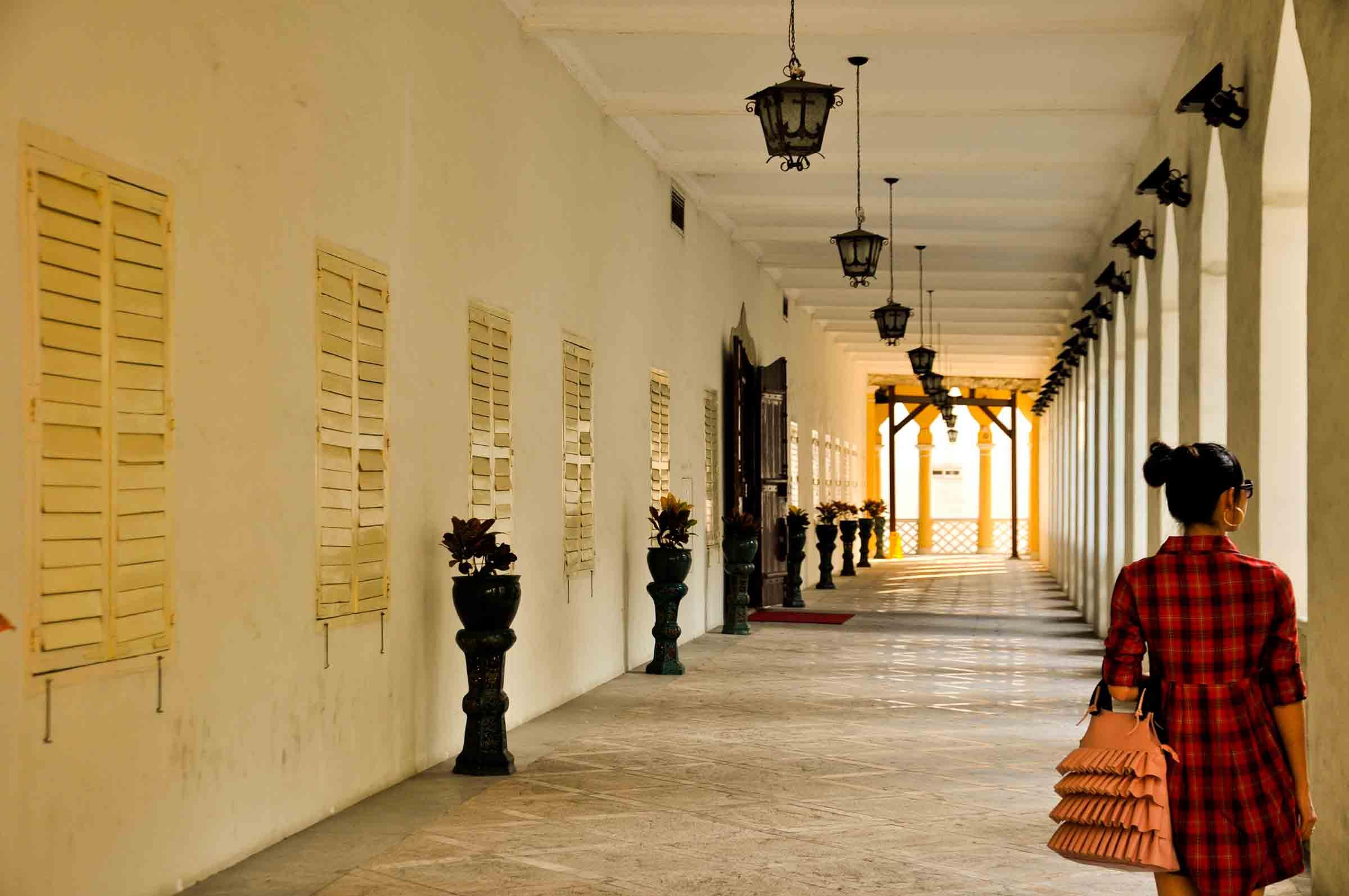 Macau world heritage site: Moorish Barracks hall