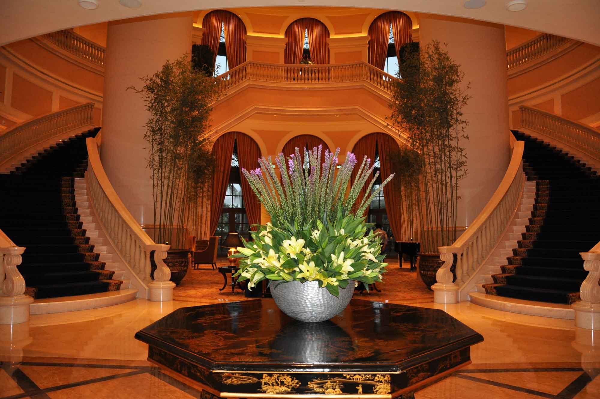 Four Seasons Macau lobby