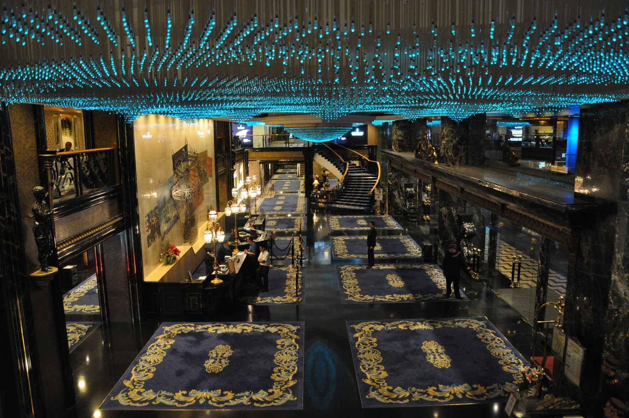 New Orient Landmark Hotel lobby