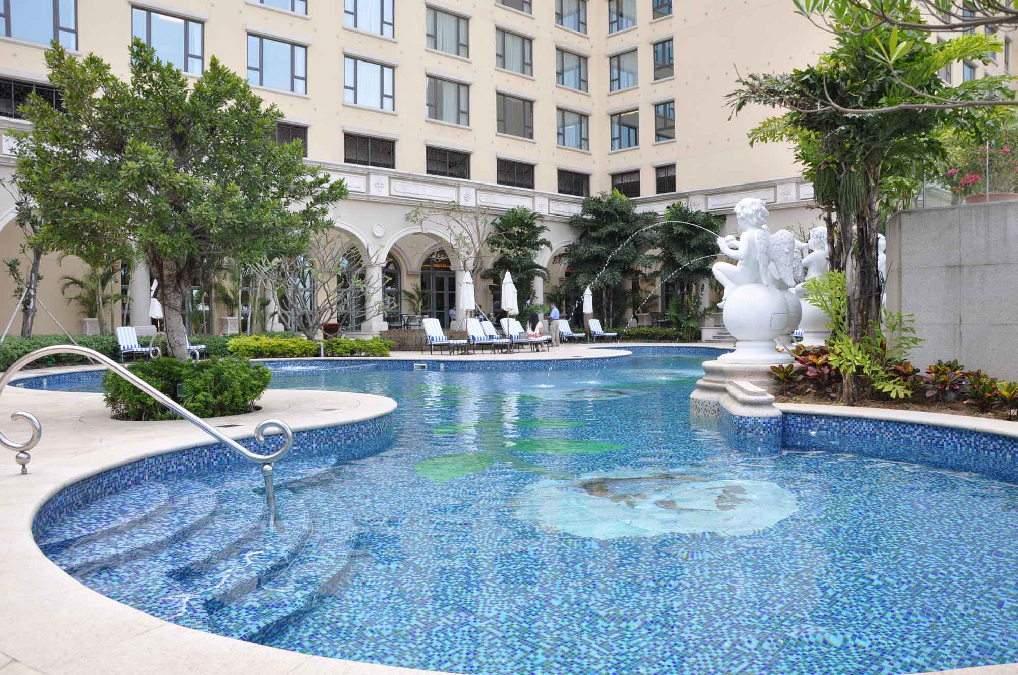 Sofitel Macau outdoor pool