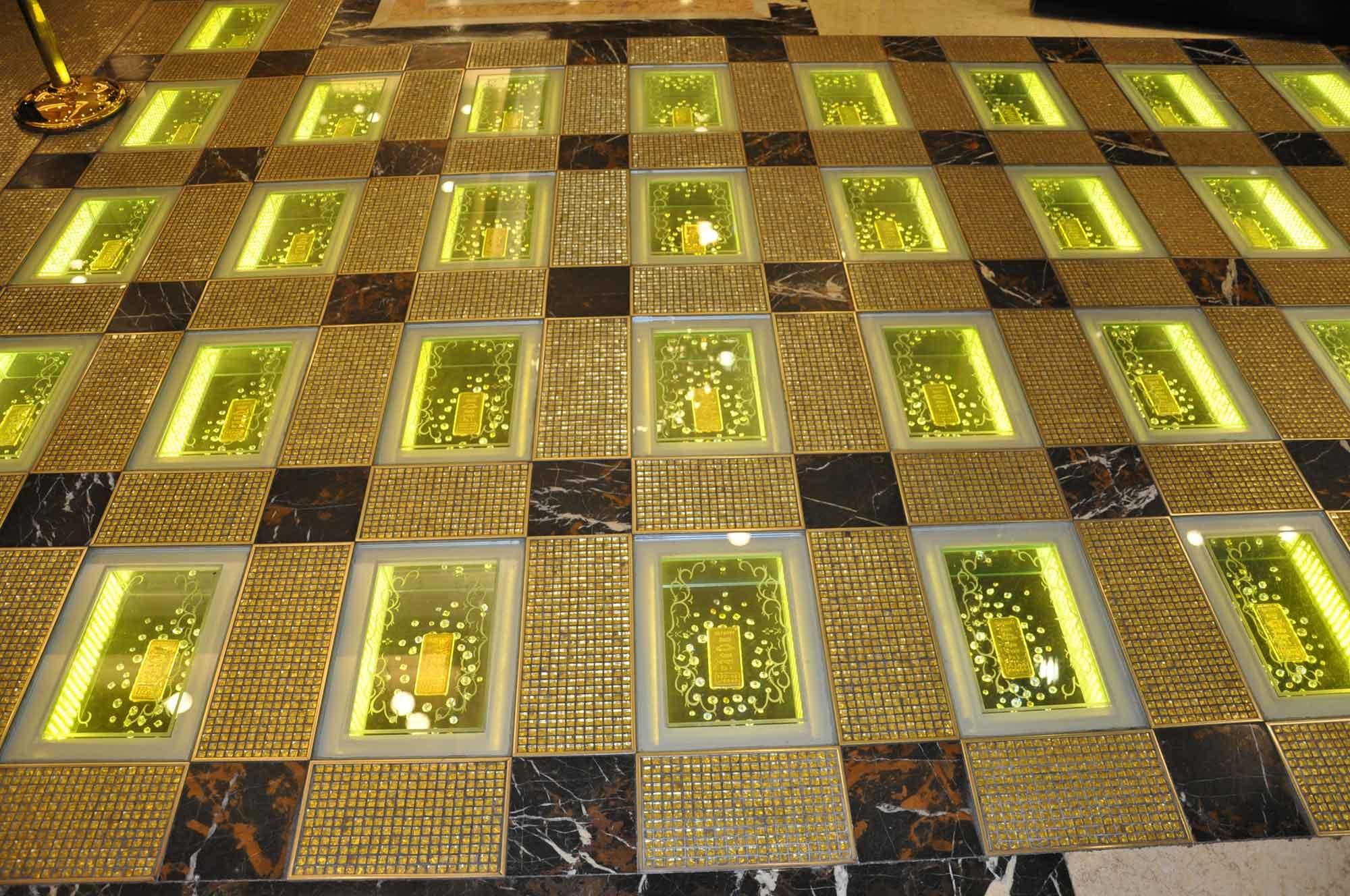 Grand Emperor Hotel bars of gold