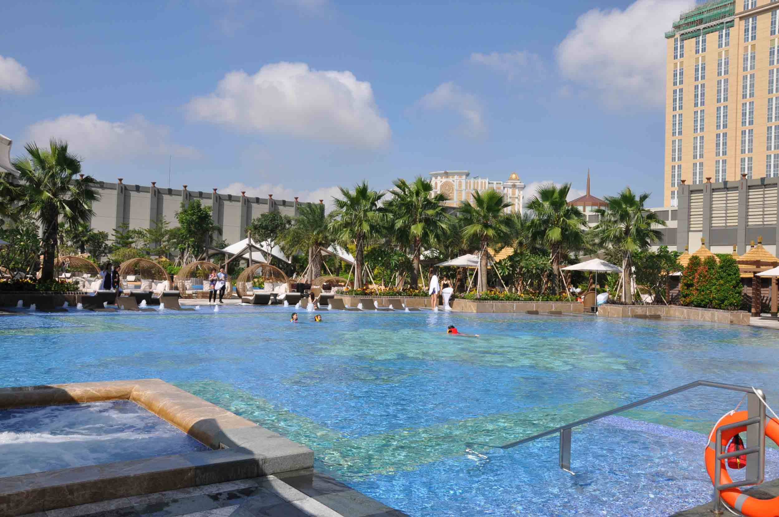 Studio City Macau outdoor pool
