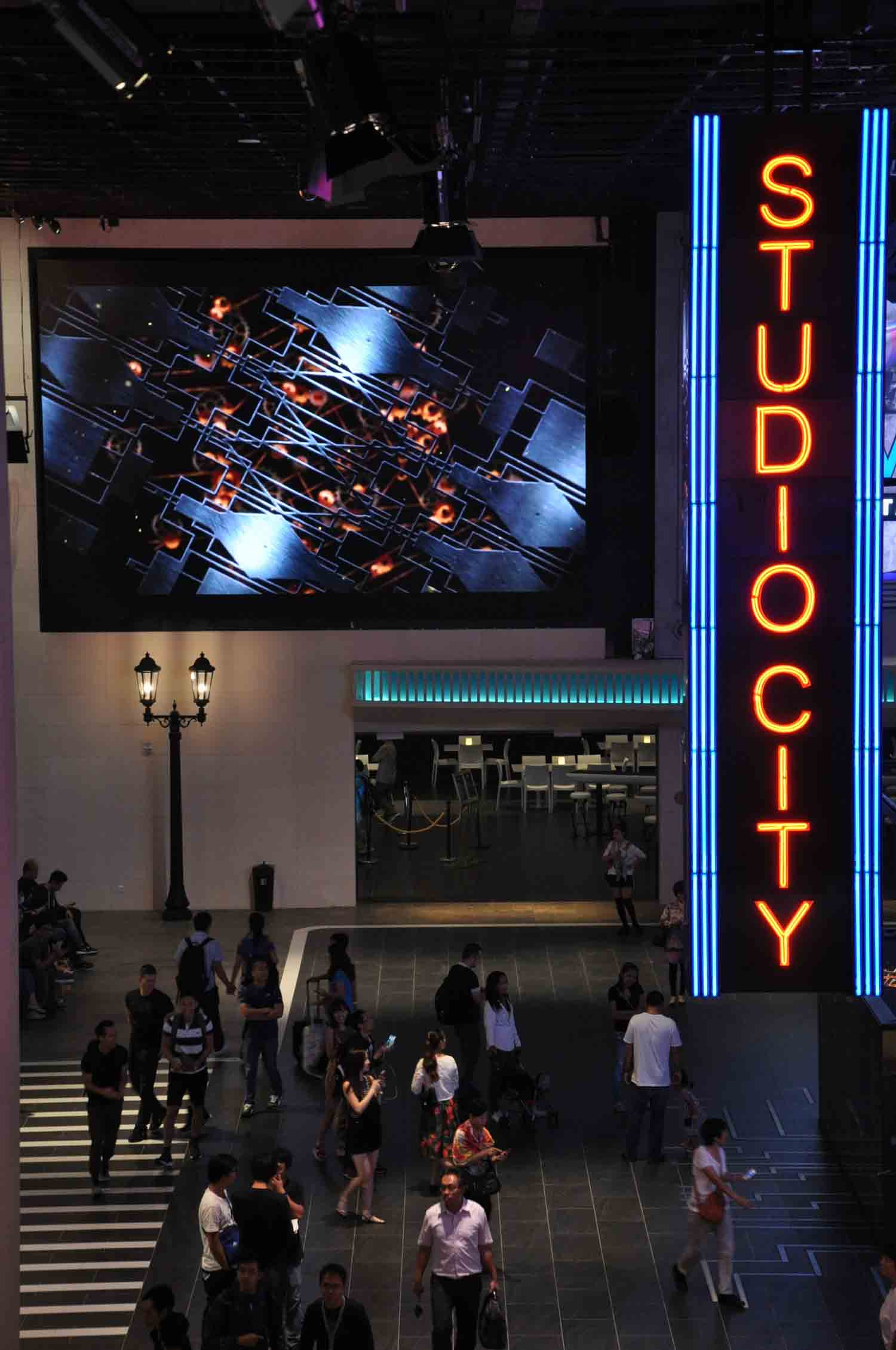 Studio City Macau sign