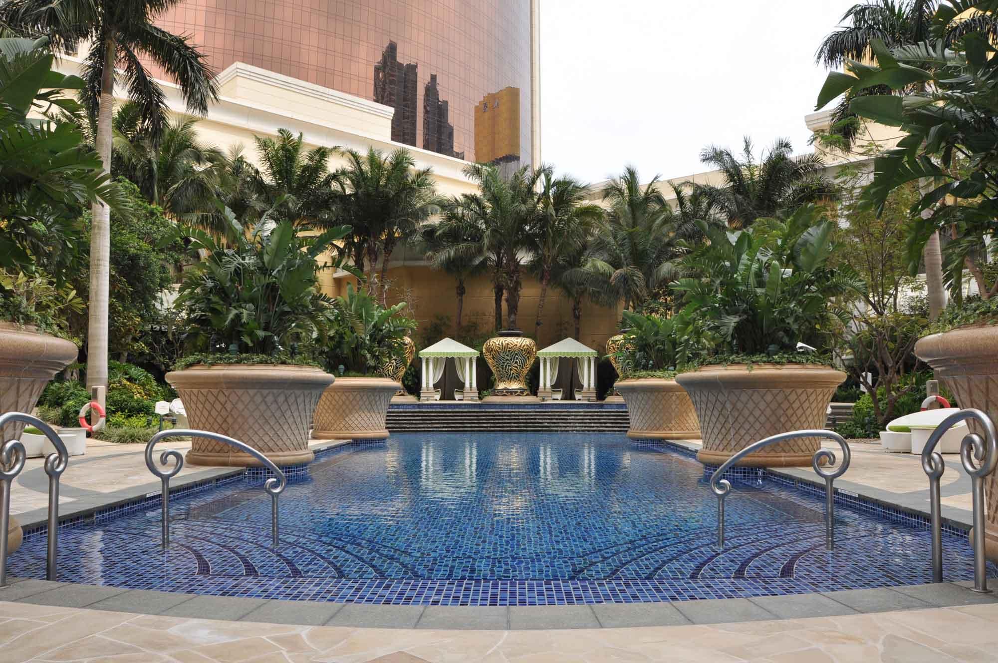 Wynn Macau outdoor pool