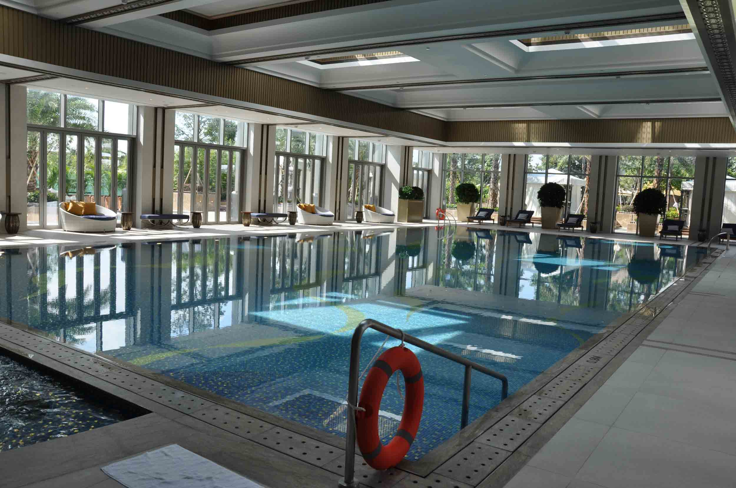 Studio City Macau indoor pool