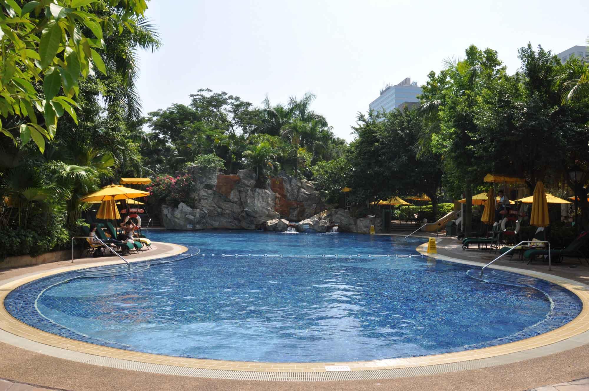 Grand Lapa Macau swimming pool