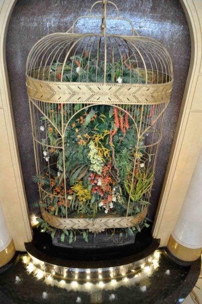 Shoppes at Four Seasons Macau bird cage