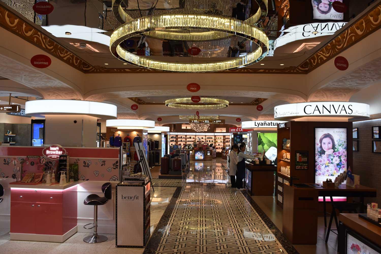 Jai Alai duty free shop