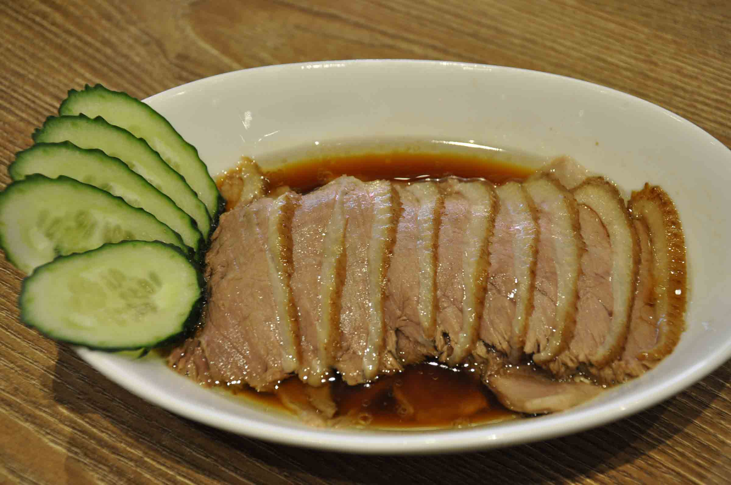 Hung's Delicacies: Marinated Goose Slices