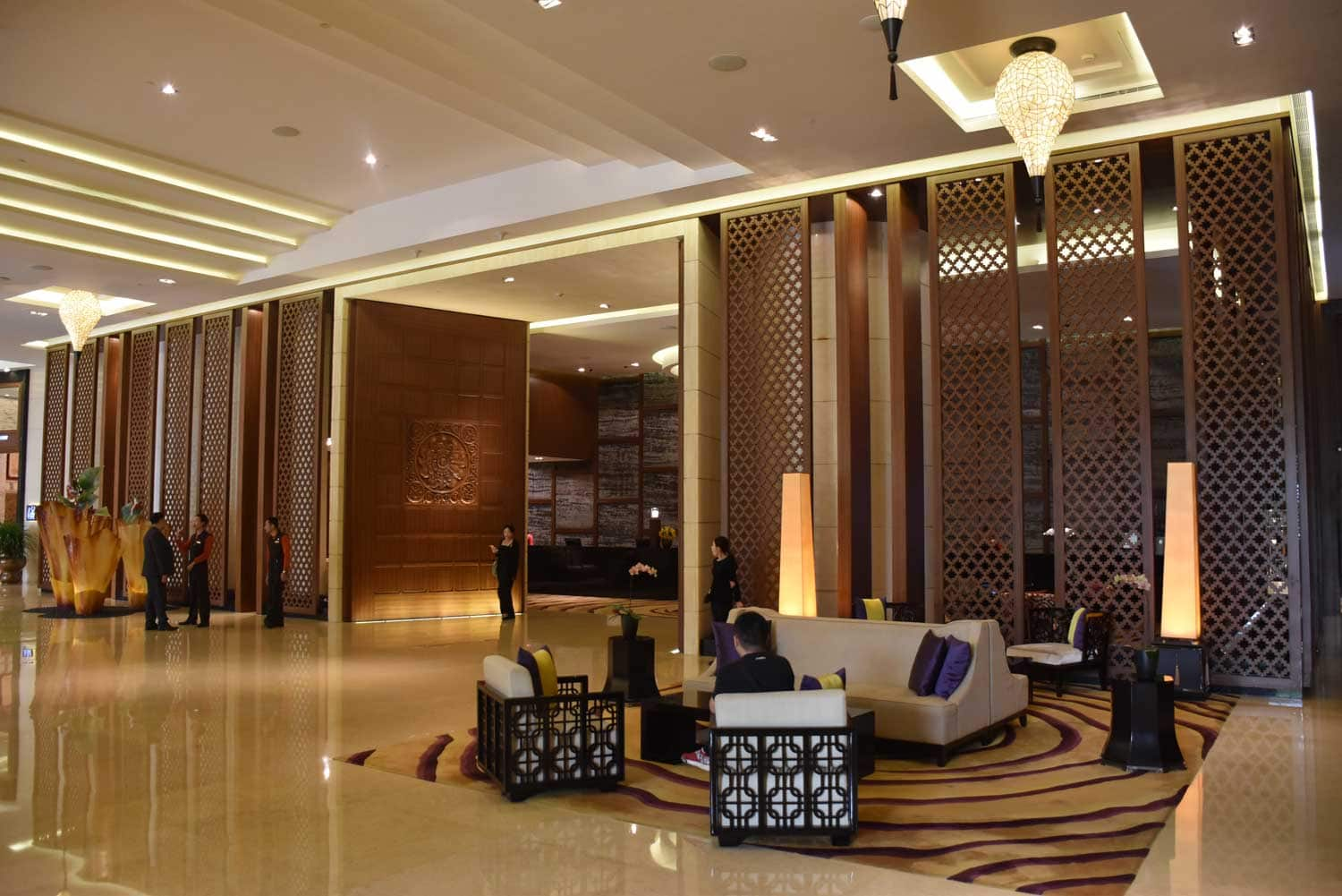 Banyan Tree lobby