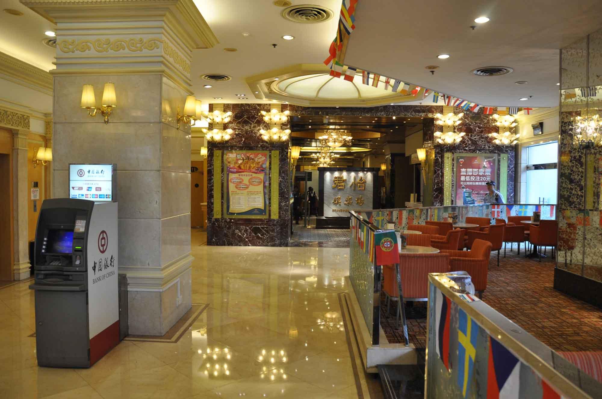 Grandview Hotel Macau casino entrance