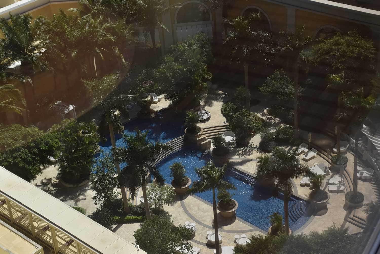 Wynn Macau outdoor pool area