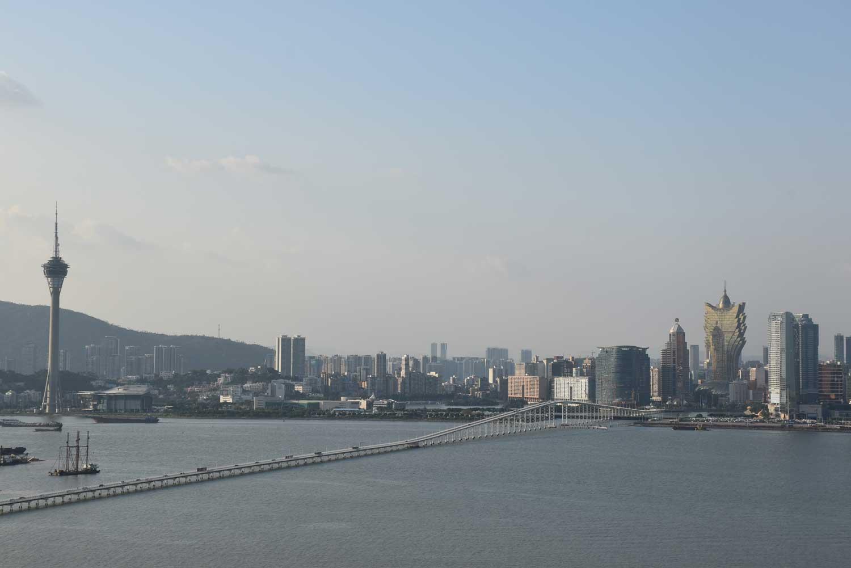 Macau skyline view from Altira