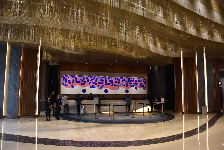 MGM Cotai front desk