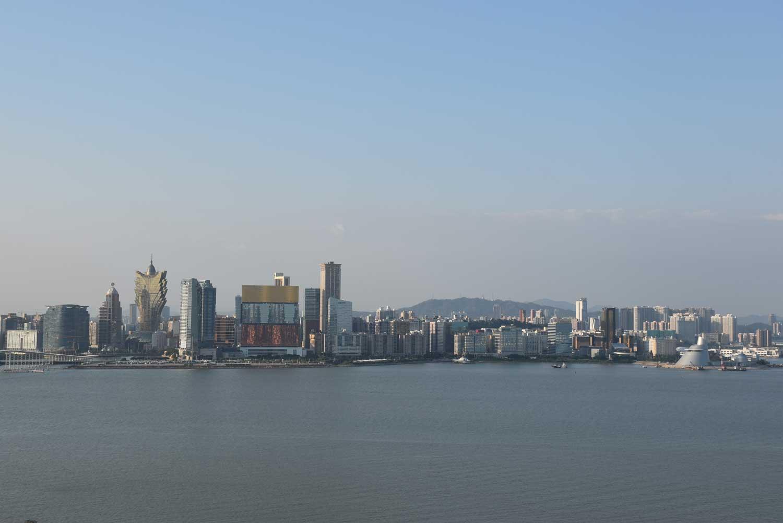 View of Macau skyline from Altira Macau