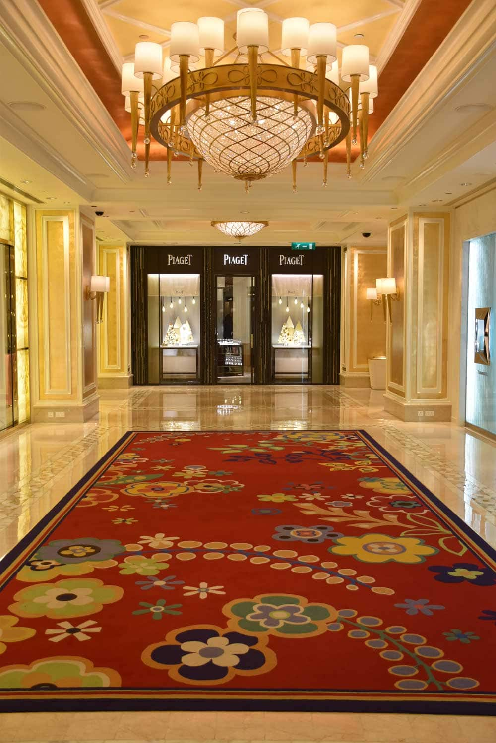 Wynn Macau Piaget shop