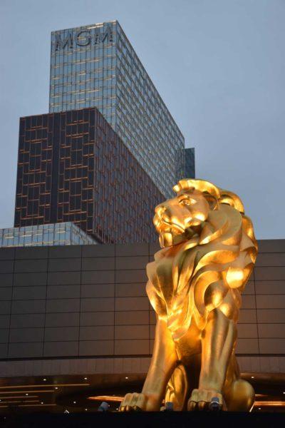 MGM Cotai lion