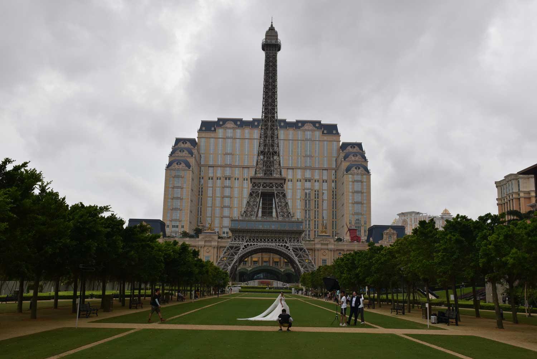 Parisian Macao exterior