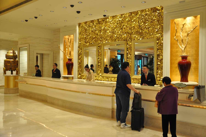 Wynn Macau front desk