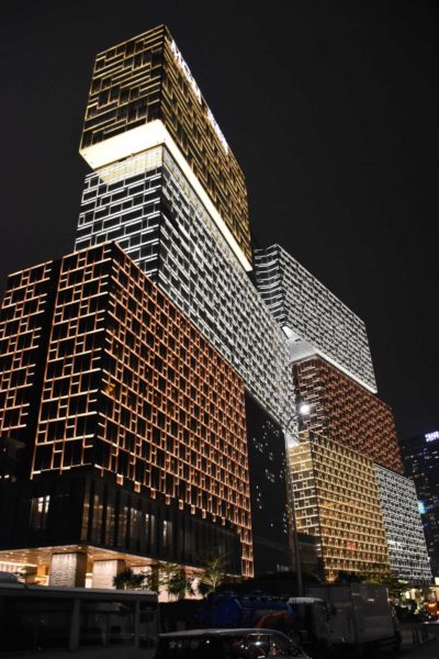 MGM Cotai at night