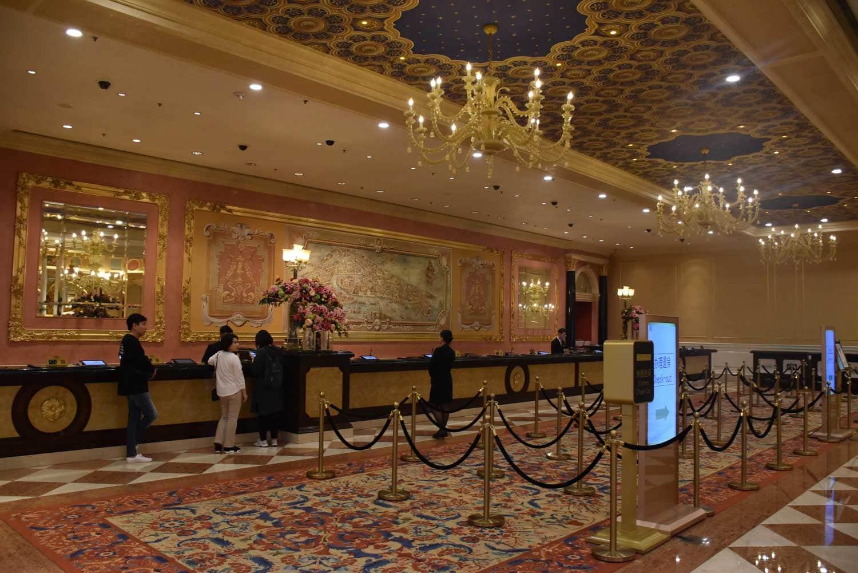 Venetian Macau front desk