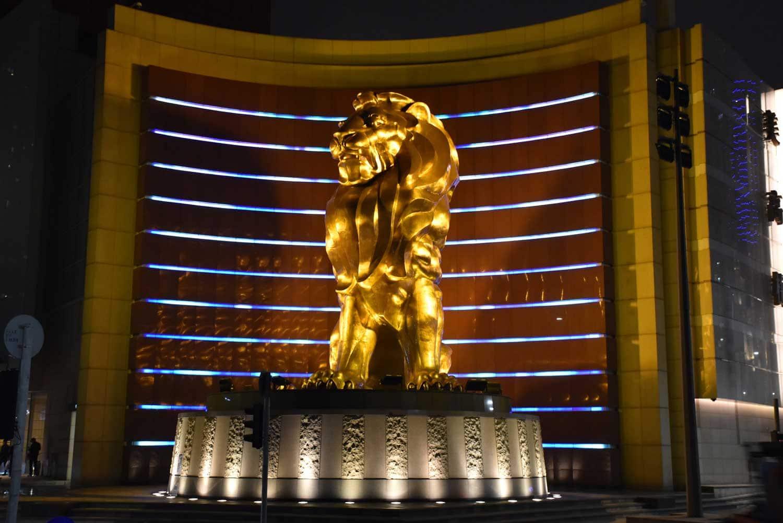 MGM Macau lion