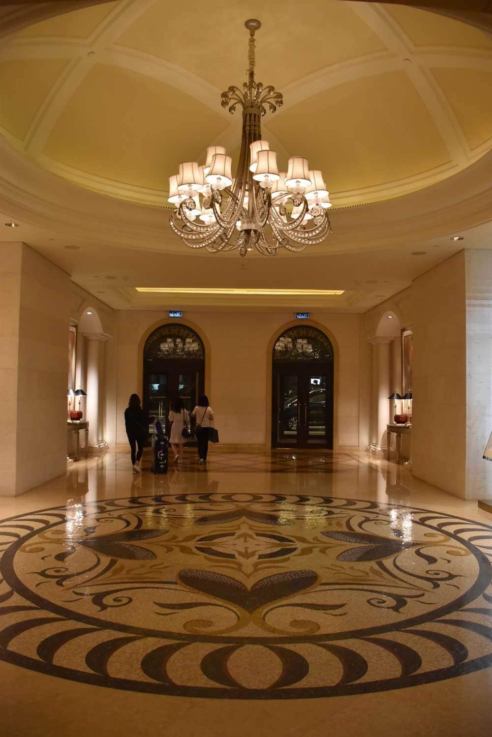 Four Seasons Macau entrance doors