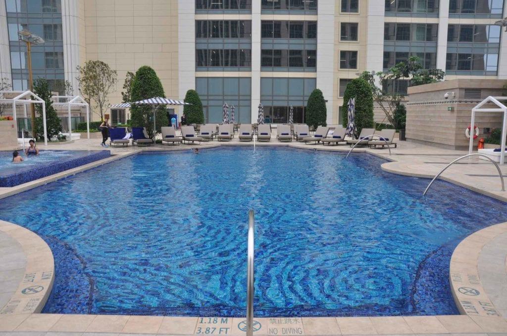 St. Regis Macau outdoor pool