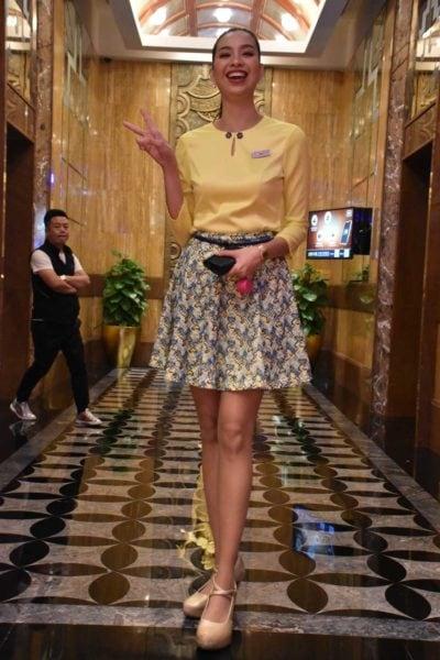 Smiling Starworld Macau lobby ambassador