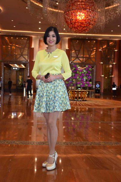Gorgeous Starworld Macau lobby ambassador